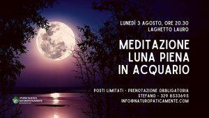 Meditazione della Luna Piena in Acquario @ Laghetto Lauro | Cologno Al Serio | Lombardia | Italia