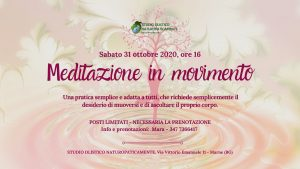 Meditazione in movimento - Danzando si sente @ Studio Naturopaticamente | Marne | Lombardia | Italia